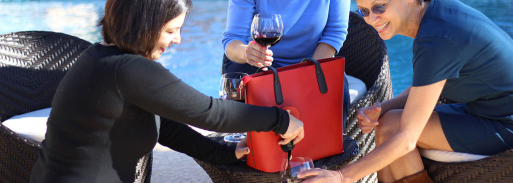 Wine Purses and Wine Accessories 5c8e0497543bf