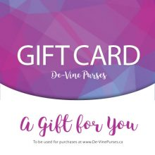 De-Vine Purses Gift Card